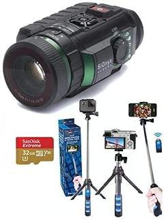 SiOnyx Aurora IR Night Vision Camera - Bundle with 32GB MicroSDHC Card, GoPole Universal GoPro Mount to 1/4