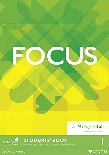 Focus BrE 1 Students Book & MyEnglishLab Pack