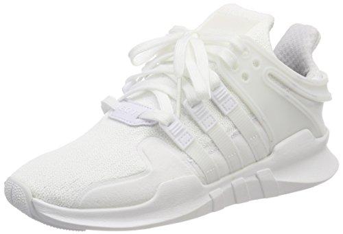 adidas EQT Support ADV, Scarpe da Ginnastica Basse Unisex-Adulto, Bianco (Footwear White), 36 2/3 EU