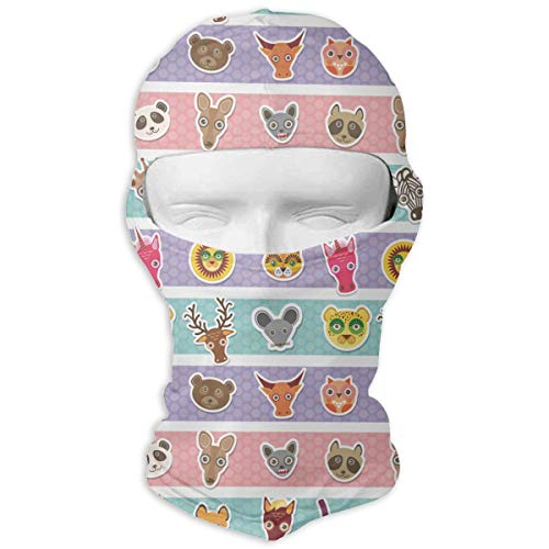 Funny Animals Muzzle Full Face Mask Sun Dust Wind Protection Durable Breathable Seamless Face Mask Bandana