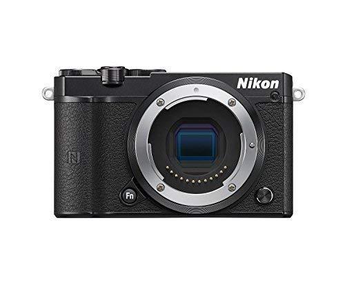 Nikon 1 J5 Mirrorless Digital Camera (Black Body Only) International Version (No Warranty)