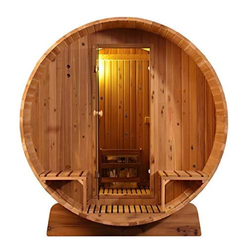Sunspa Fass-Sauna 305 x Q 214 cm Zedernholz 4-6 Personen