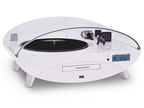 Thomson TT401CD Weiß Plattenspieler