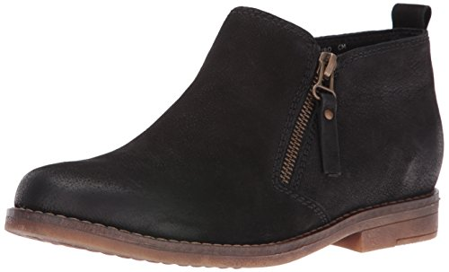 Hush Puppies Women's Mazin Cayto Ankle Boot, Black, 8.5 W US