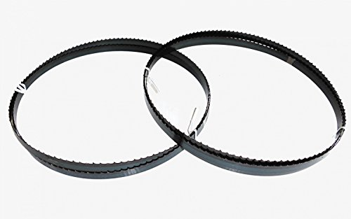 2 x Sägebänder Sägeband 3380 x 13 x 0,65 mm 4 ZpZ Holz Metabo Elektra Beckum BAS