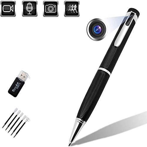 Spy Camera Pen Hidden Camera Premium Pack Mini Spy Camera 1080p USB Pen Camera Hidden Spy Camera product image