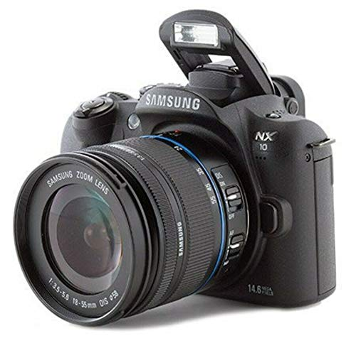 Cámara digital Samsung NX10 Prosumer 14,6 MP 18-55 mm lente negro (EV-NX10ZBABUS)