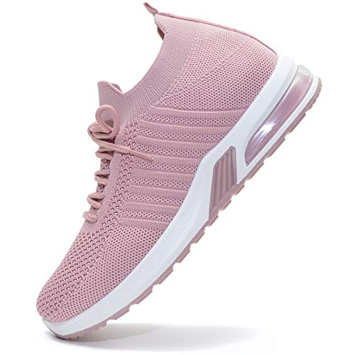 Vain Secrets Damen Sneaker Socken Laufschuhe Sportschuhe Freizeit Schuhe in 5 Farben (Flieder, Numeric_37)