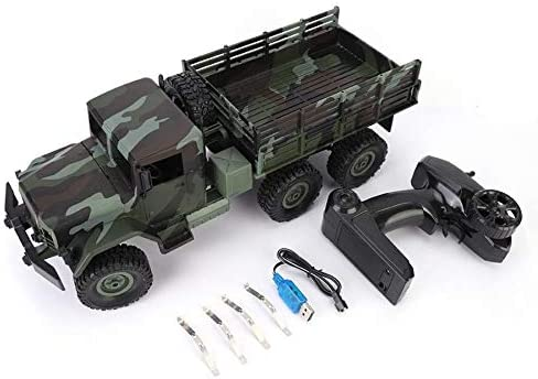 Moerc RC CAR Model 1 16 Truck Oakland Mall 2.4G Climbing 4CH Military free 6WD