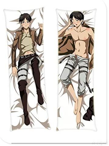 Attack Price reduction on Titan Male 160cm 62.9in 2 Anim Way Pillowcases 25% OFF Tricot