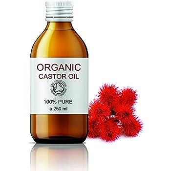 ECOLÓGICO Aceite de Ricino 100% Puro Natural 250 ml - Castor Oil ...