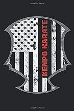 Kenpo Karate: Martial Artist Training Log Journal - Blank Dot Grid Kenpo Notebook Tracker