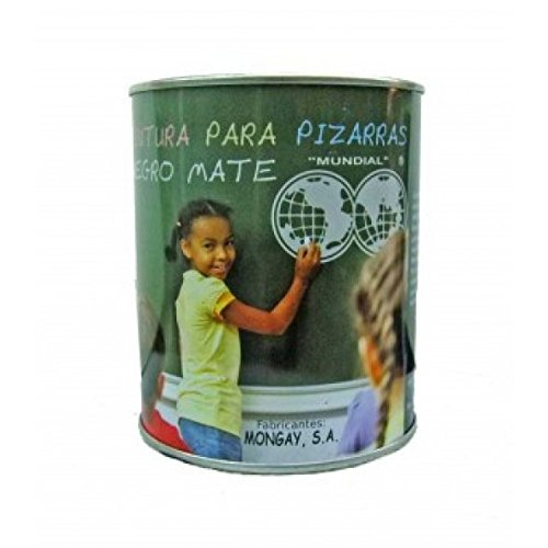 PINTURA PARA PIZARRAS NEGRO MATE MONGAY 750ML