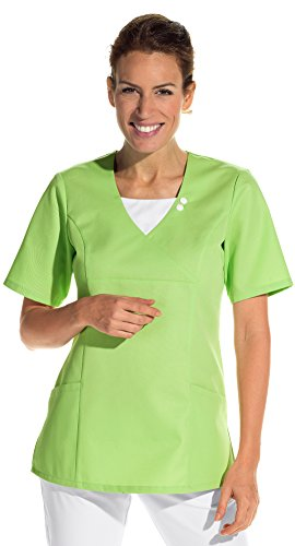 clinicfashion 12612042 Schlupfhemd hellgrün für Damen, Mischgewebe, Größe M
