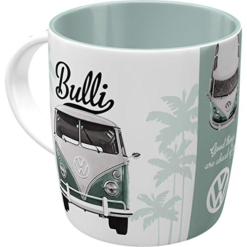 Nostalgic-Art 43033 Retro Kaffee-Becher Volkswagen - VW Bulli Good Things are aheay of you, Große...