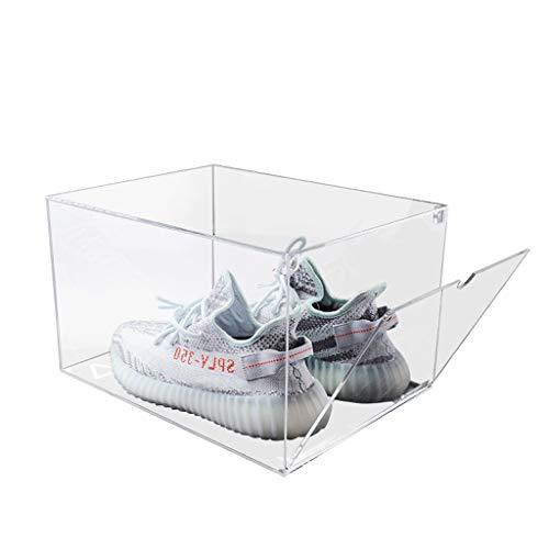 3 schoenen doos combinatie verkoop sneaker opbergdoos 34 * 28 * 21cm transparante collectie display acryl schoen box schoen vochtbestendige stofdichte schoenendoos