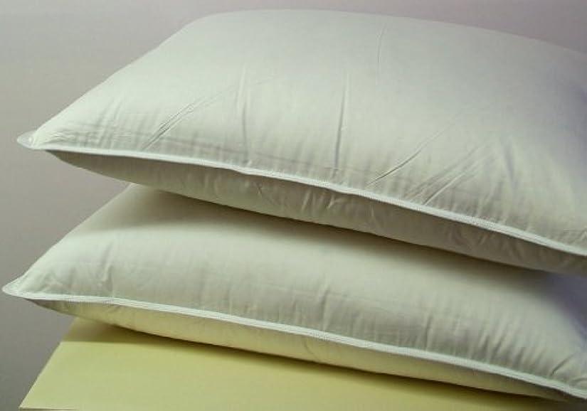 前進着実に満足できるダウン代替標準枕各