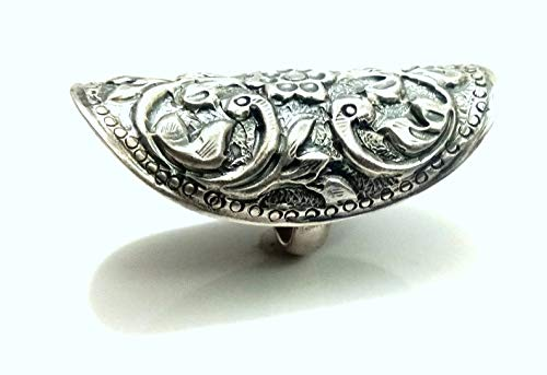 Vintage Handcraft Plain Silver Ring in Pure 925 Silver,Wonderful Handmade Work,Sterling Silver Ring Antique Looking Silver Ring
