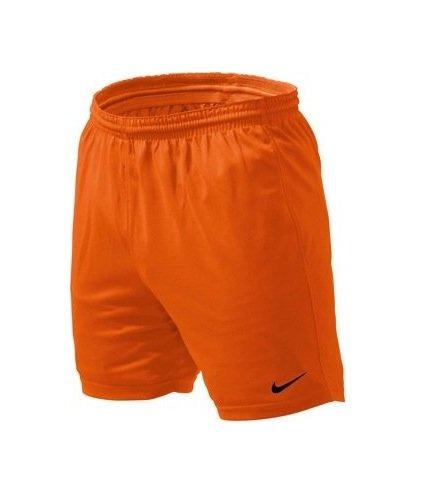 NIKE Park - Pantalones de Running para Hombre, tamaño L, Color Naranja/Negro