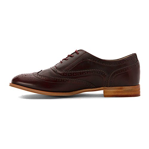 Wanted Shoes Frauen Oxfords Rot Groesse 8 US /39 EU