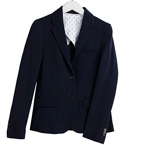 GANT D1. Jersey Pique Slim Womens Blazer X Small Evening Blue