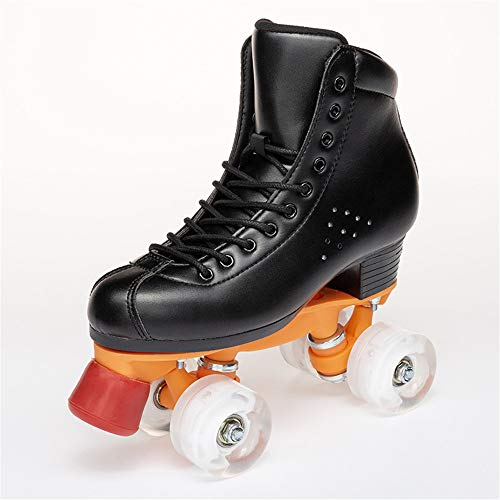 High-Top Quad Roller Skate, Quad Speed Rolschaatsen Voor Adult & Jeugd Voor Indoor En Outdoor Sports Running Sneakers,33