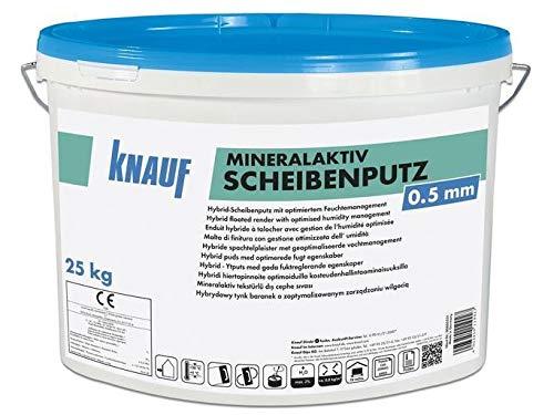 Knauf MinerlAktiv Scheibenputz Putz Oberputz Innenputz Außenputz 0,5 mm