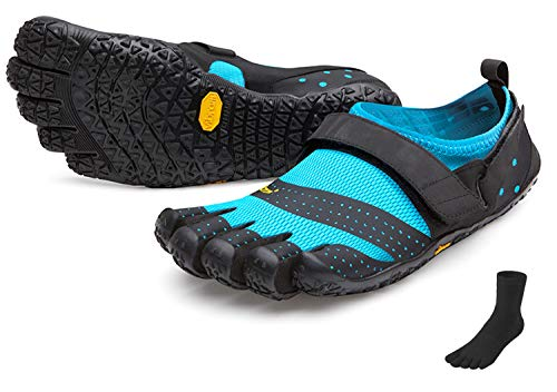 Fivefingers Vibram V-Aqua - Calcetines con dedos para mujer (talla 40), color negro