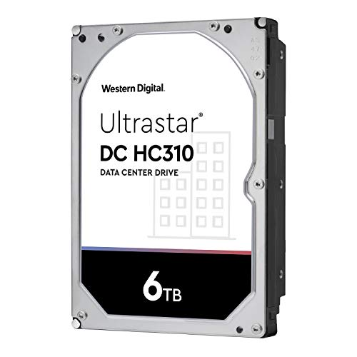 Western Digital HDD 6TB WD Ultrastar データセンター 3.5インチ 内蔵HDD HUS726T6TALE6L4