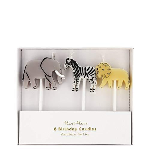 Meri Meri Safari Animal Candles