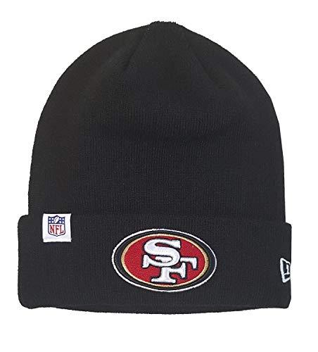 New Era San Francisco 49ers Beanie NFL Essential Logo Knit Black - One-Size