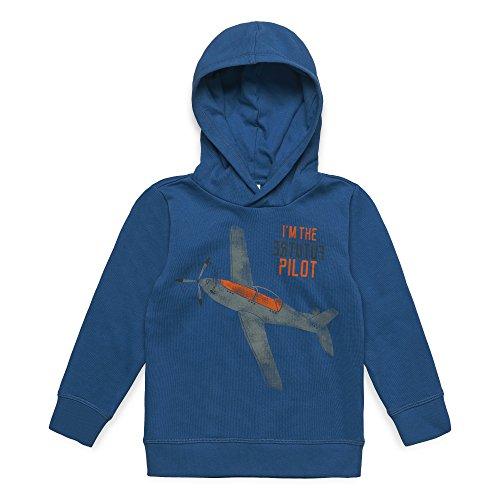 ESPRIT KIDS Jungen RM1505409 Sweatshirt, Blau (Twilight Blue 472), (Herstellergröße:92+)