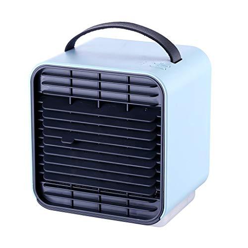 URIBAKY Refrigerador De Aire, Refrigerador De Aire PortáTil, [Mini Ventilador, Humidificador, Purificador De Aire] Aire Acondicionado PortáTil 3 En 1 1, para El Hogar/Oficina/AutomóVil/Exterior