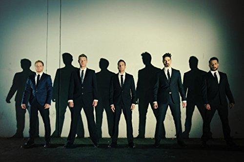 Firefly Arts Backstreet Boys 52cm x 35cm 21Zoll x 14Zoll Poster auf Seide - Kunstdrucke