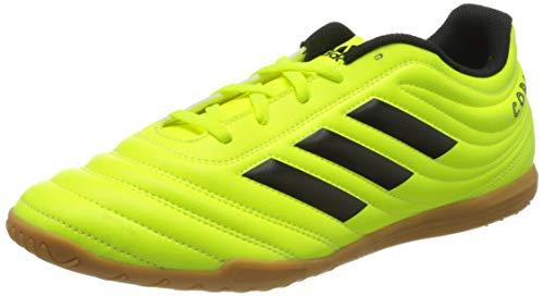 adidas Performance Copa 19.4 Indoor Fußballschuh Herren Neongelb/schwarz, 11 UK - 46 EU - 11.5 US