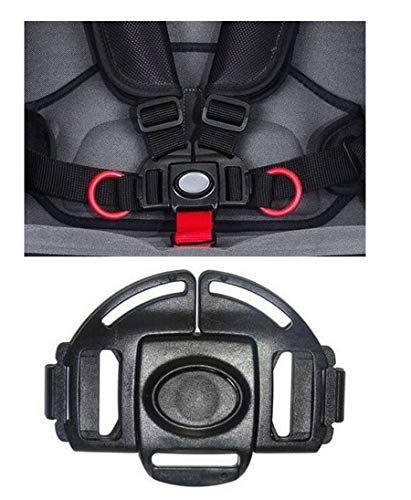 Replacement Parts/Accessories to fit Recaro Stroller and Car Seat Products for Babies, Toddlers, and Children (Easylife Stroller Models Harness Buckle ONLY)