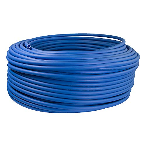 Supply Giant QGX-C12500 PEX Tubing for Potable Water, Non-Barrier Pipe 1/2 in. x 500 Feet, Blue