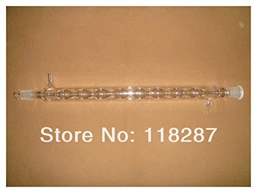 LYJASD LYJUN AlliN-Kondensator, 24/29.400mm, Kugelformglas-Kondensator, Labor-Glaswaren, Labor-Kondensator Hohe Qualität