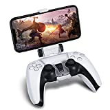 Handheld Gaming Experience - Exclusive phone clip made for the Dual Sense 5 controller, allowing you to play games on the go with a PS5 controller, providing a smoother better control, console heptic feedback, and ergonomic gaming experience Simple A...