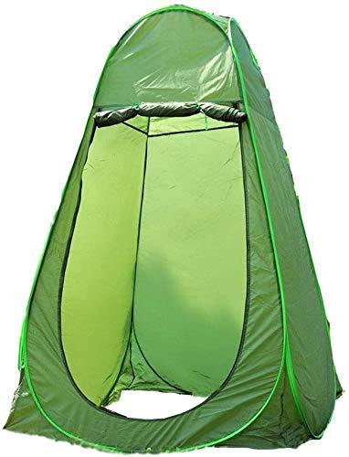 GAOLIGUO Surge la Tienda, vestuarios portátil de privacidad Espacio Campamento Playa Plato de Ducha al Aire Libre para el Cambio de Vestir Dom Refugio Shade,Single