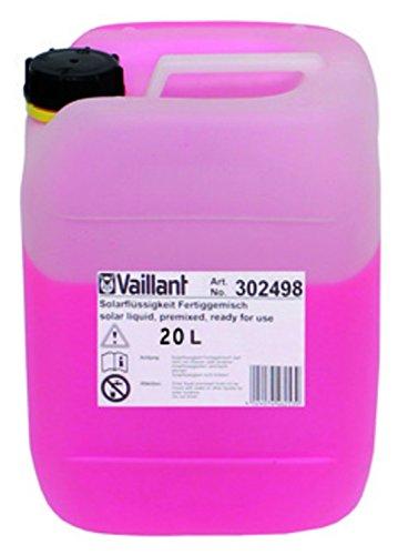 Vaillant Solarflüssigkeit Solarfluid Wärmeträgerflüssigkeit bis -28 °C 302498 20 Liter