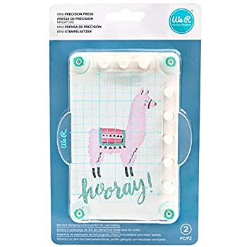 We R Memory Keepers 0633356607014 Accessories Stamping-Mini Precision Press Multi