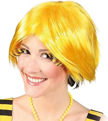 Perruque annika, jaune