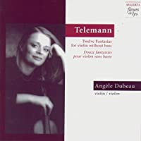 Telemann: 12 Fantasias Violi