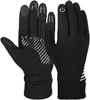 VBIGER Herren Touchscreen Handschuhe Anti-Rutsch Outdoor Sport Handschuhe Fahren Radfahren Handschuhe mit Fleece Liner...
