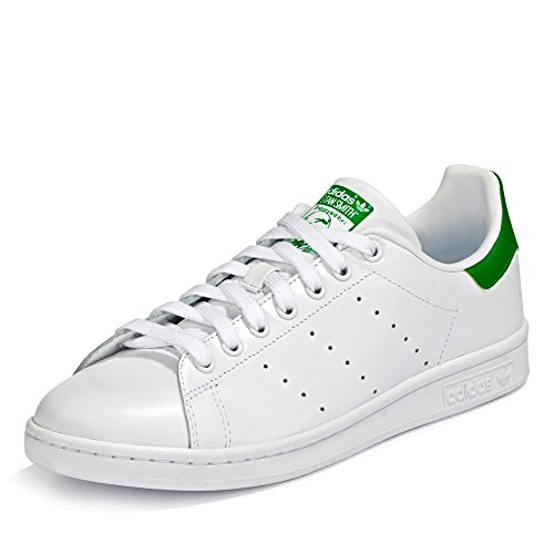 adidas Originals Stan Smith, Zapatillas Unisex Adulto, Blanc, 38 2/3 EU
