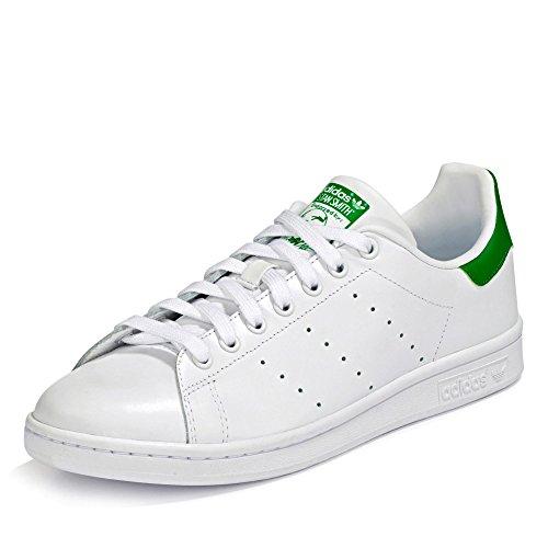 Adidas Stan Smith, Zapatillas de Deporte Unisex Adulto, Blanco Running White FTW Running White Fairway, 42 EU