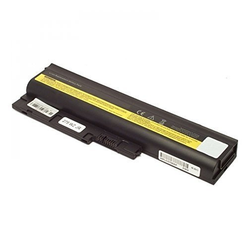 Batterie rechargeable, lion, 10.8/11.1V, 5200MAH, noir pour Lenovo ThinkPad R61i (7650), IBM Lenovo Batterie ThinkPad T500 R500 W500 T60 92P1133 92P1141 Batterie 41+