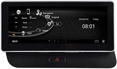 Radio automática Android Quad Core de 10.25 Pulgadas Compatible con Audi Q5 A4l 2009 2010 2011 2012 2013 2014 2015 2016 2017 Navegación GPS estéreo para automóvil WiFi 3G RDS Mirror Link FM Am