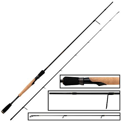 Fox Rage Terminator Light Spin 2,10m 2-10g - Spinnrute zum Barschangeln & Forellenangeln, Ultra Light Rute für Barsche & Forellen